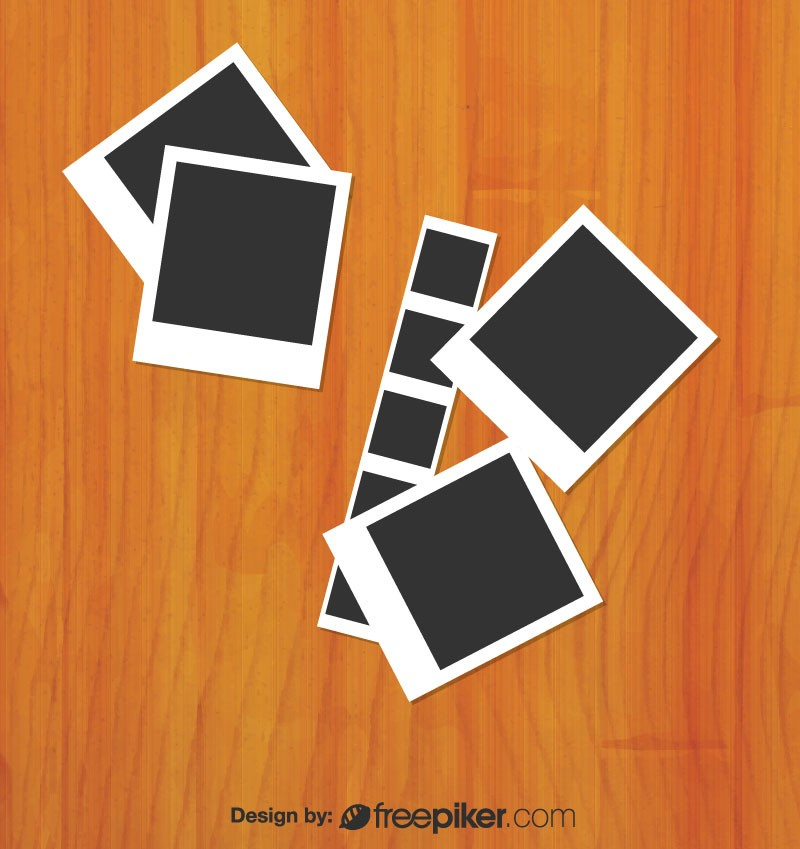 800x849 Freepiker Camera Film Vector With Wooden Background 2