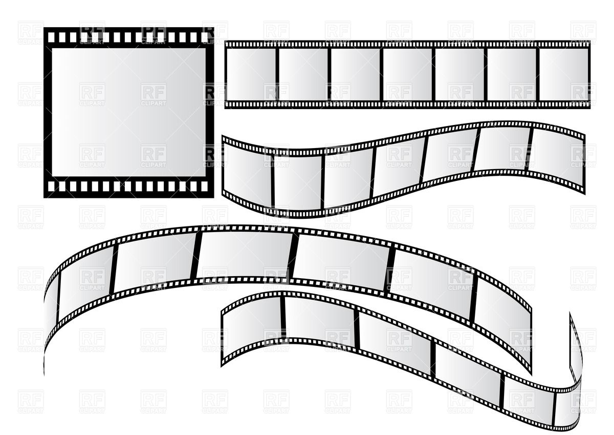 1200x849 Photographic Film Vector Image Vector Artwork Of Borders And