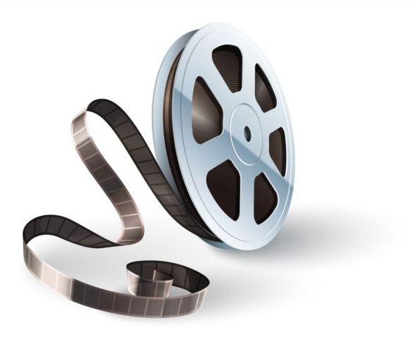 588x488 Cinema Film Illustration Vector Material 02 Free Download