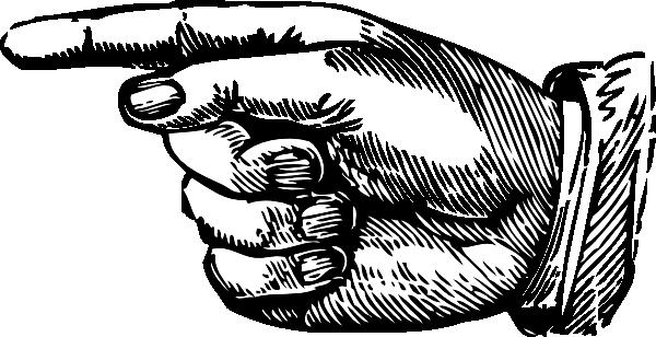 600x308 Finger Point Clip Art Left Point Clip Art