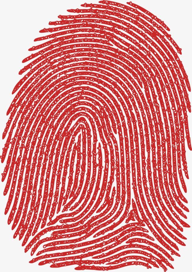 650x921 Exquisite Design Vector Fingerprint Vector Material, Fingerprint