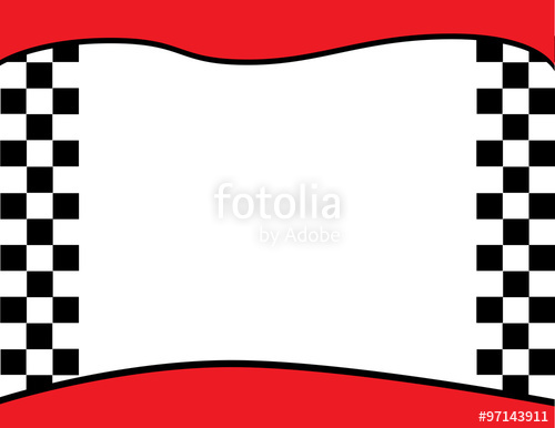 500x386 Checkered Flag Finish Line Border Background Stock Image And
