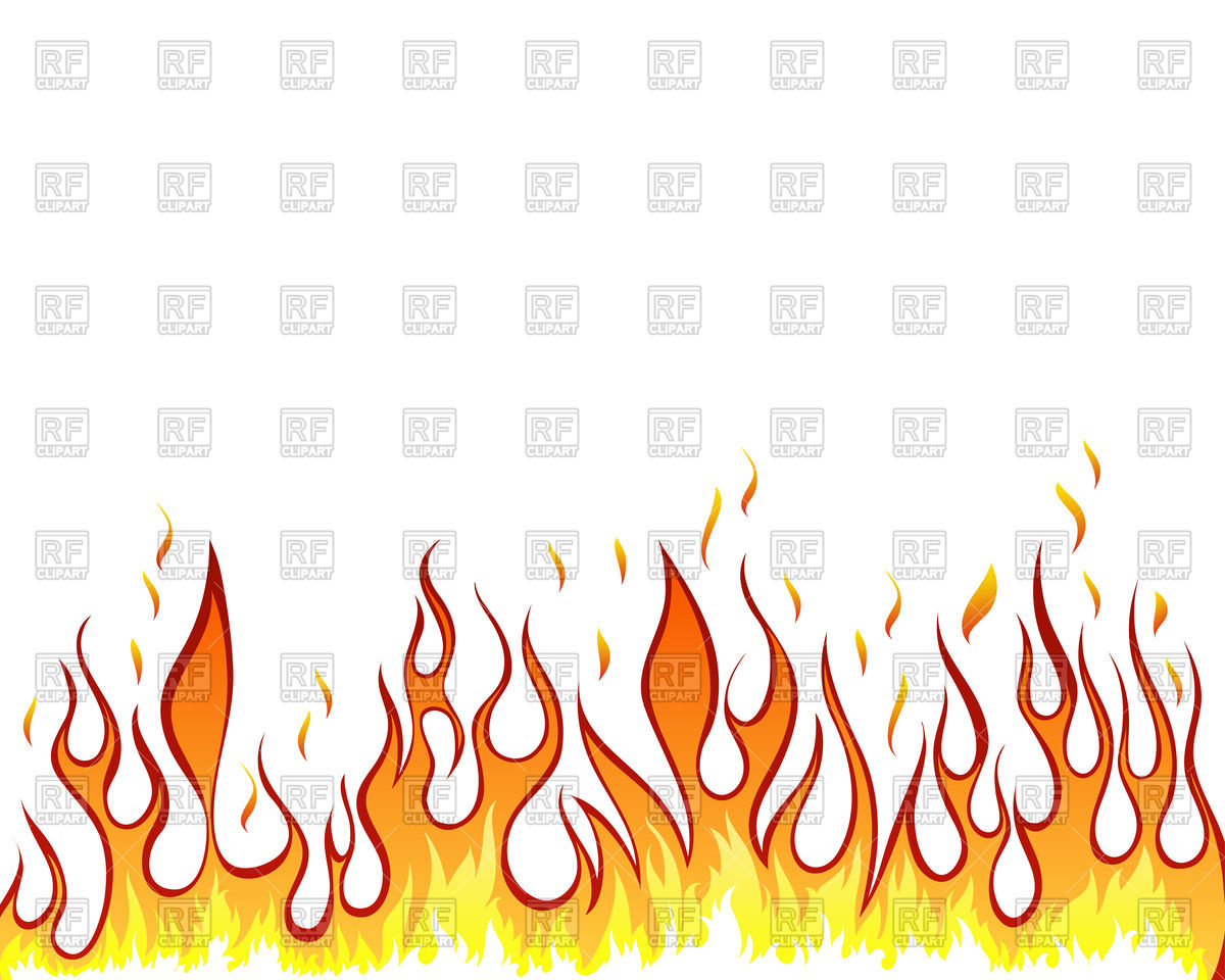 1200x960 Fiery Border Vector Image Vector Artwork Of Borders And Frames