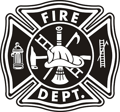 Fire Department Badge Vector At Getdrawingscom Free For