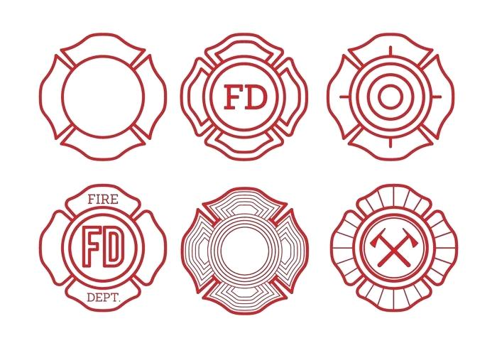 700x490 Fire Department Maltese Cross Clip Art Free Department Cross