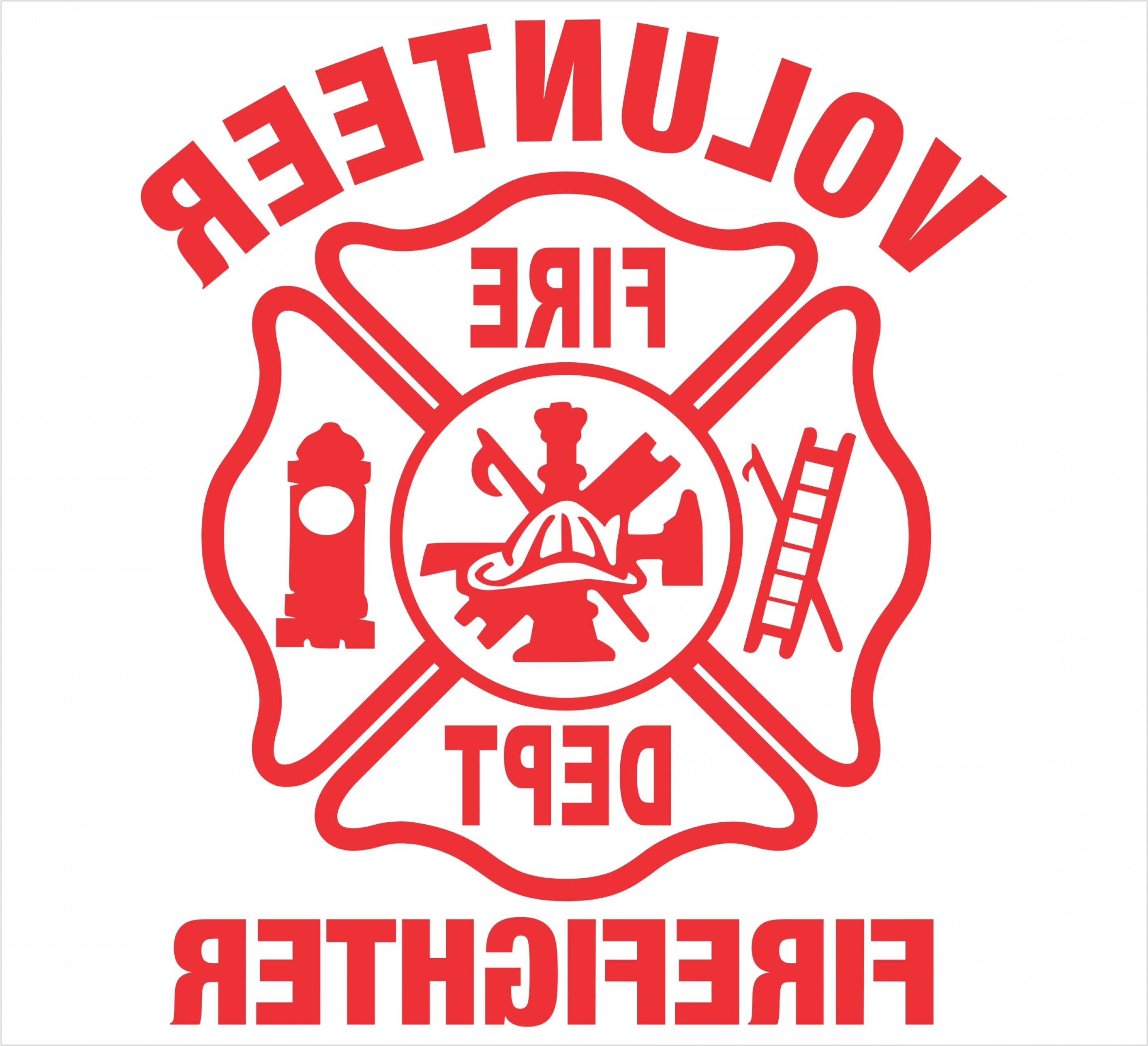 2832x2581 Free Fire Department Maltese Cross Clipart Orangiausa