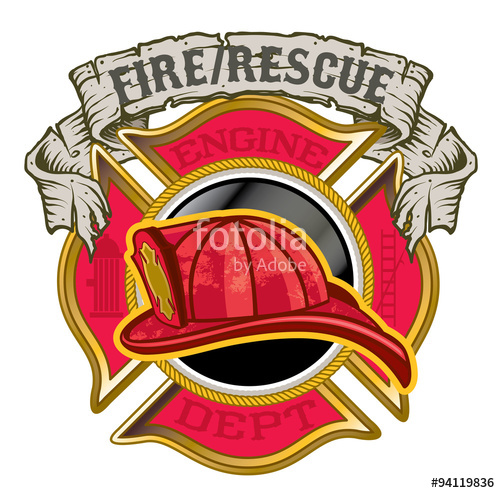 500x493 Maltese Cross Fire Department Stock Image And Royalty Free Vector