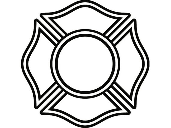 570x429 Firefighter Shield 9 Firefighting Shield Rescue Volunteer Etsy