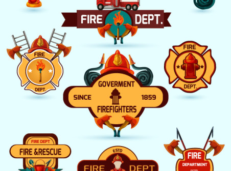 Fire Dept Logo Vector