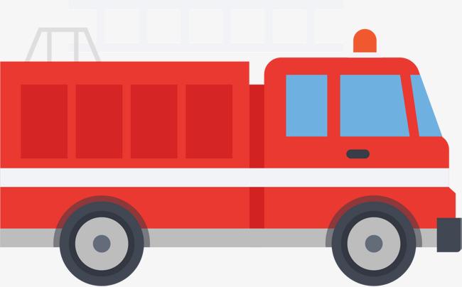 650x404 Cartoon Fire Engine, Cartoon Vector, Fire Vector, Engine Vector