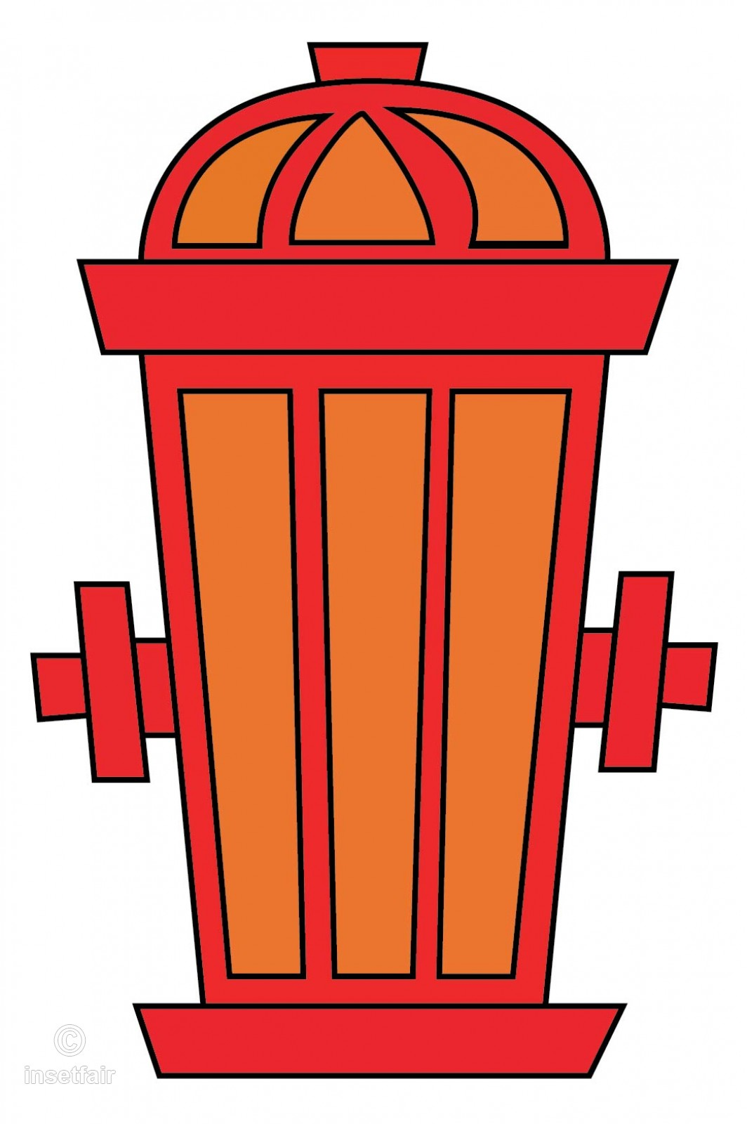 1064x1600 Fire Hose Reel Vector Illustrator Png Image