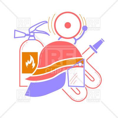 400x400 Icon Of Fireman Elements