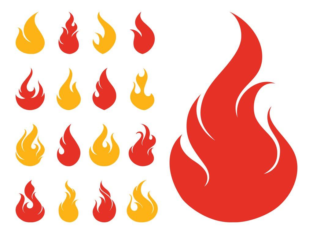 1024x765 Fire Icons Set Vector Art Amp Graphics