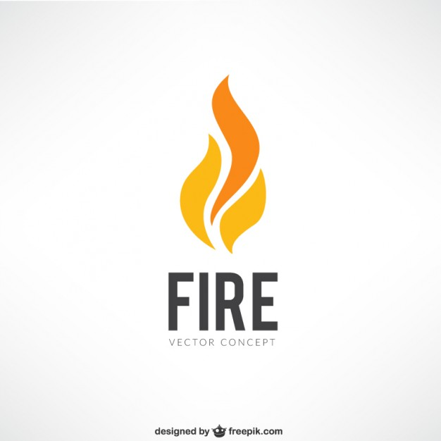 626x626 Fire Logo Vector Free Download