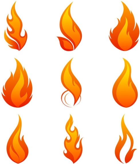 489x573 Flame Icon 01 Vector Free Vector In Encapsulated Postscript Eps