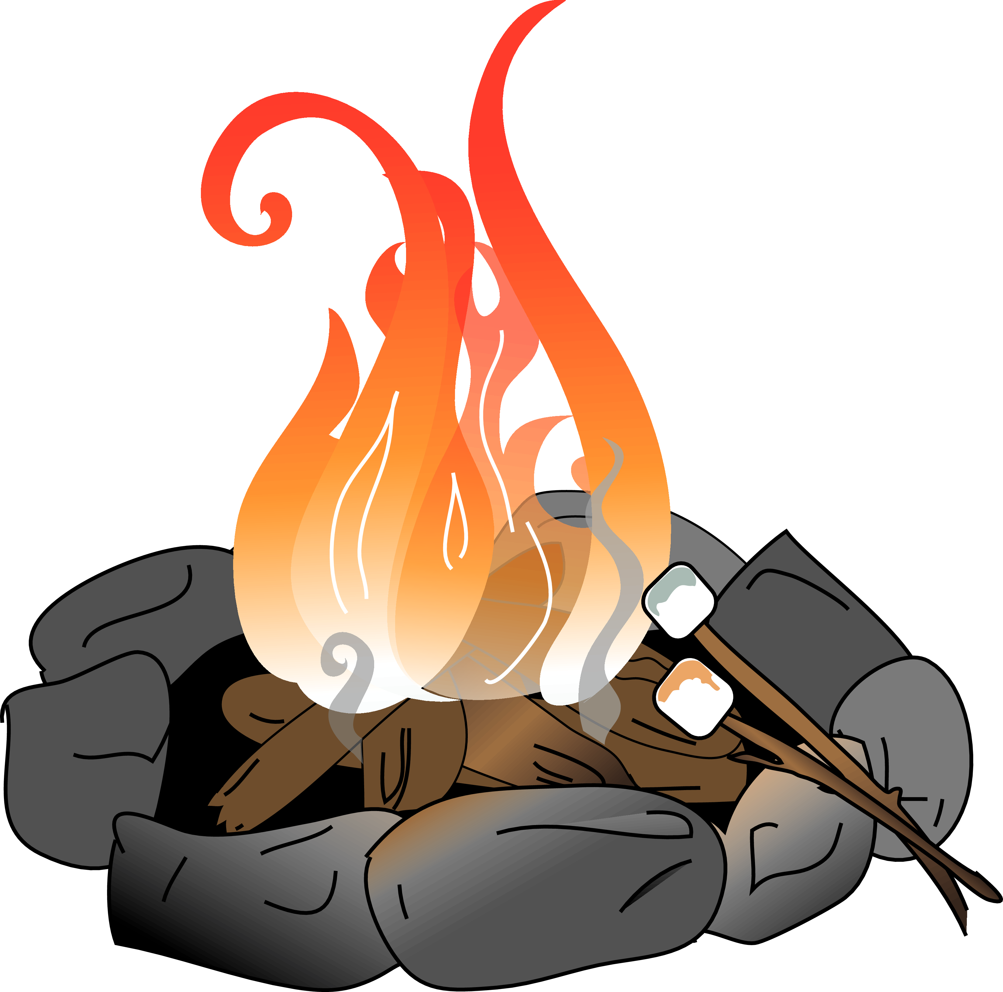 3300x3262 Collection Of Free Heated Clipart Signal Fire. Download On Ubisafe