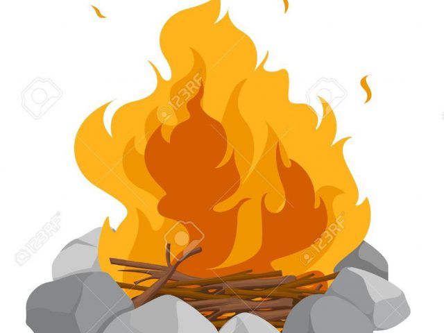 640x480 Fire Pit Clipart Lovely Best Hd Isolated Campfire White Background
