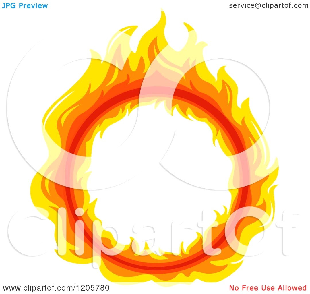 1080x1024 Illustration Of Flame Into Fire Pit Royalty Free Cliparts Vectors