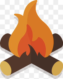 260x324 Image Of Fire Pit Vector Illustration Of Flame Into Fire Pit