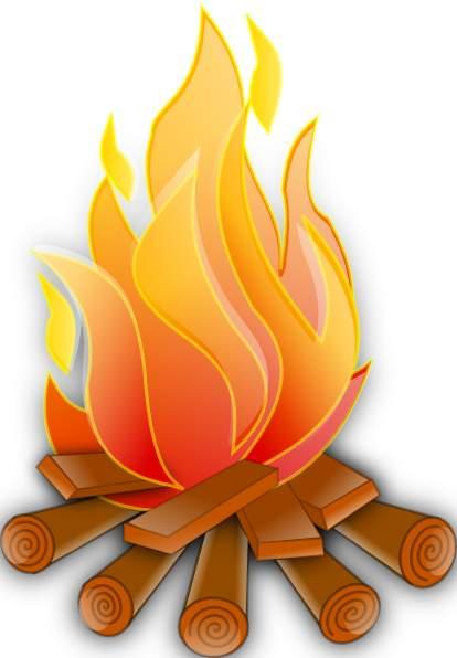 414x596 Bonfire Clipart Fire Pit