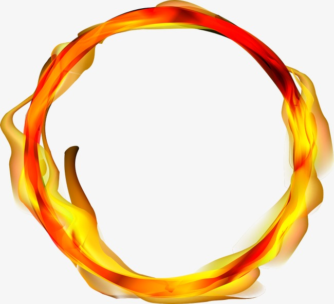 650x591 Vector Ring Of Fire, Ring Of Fire, Flame, Cartoon Flame Png And