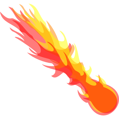 Fireball Vector