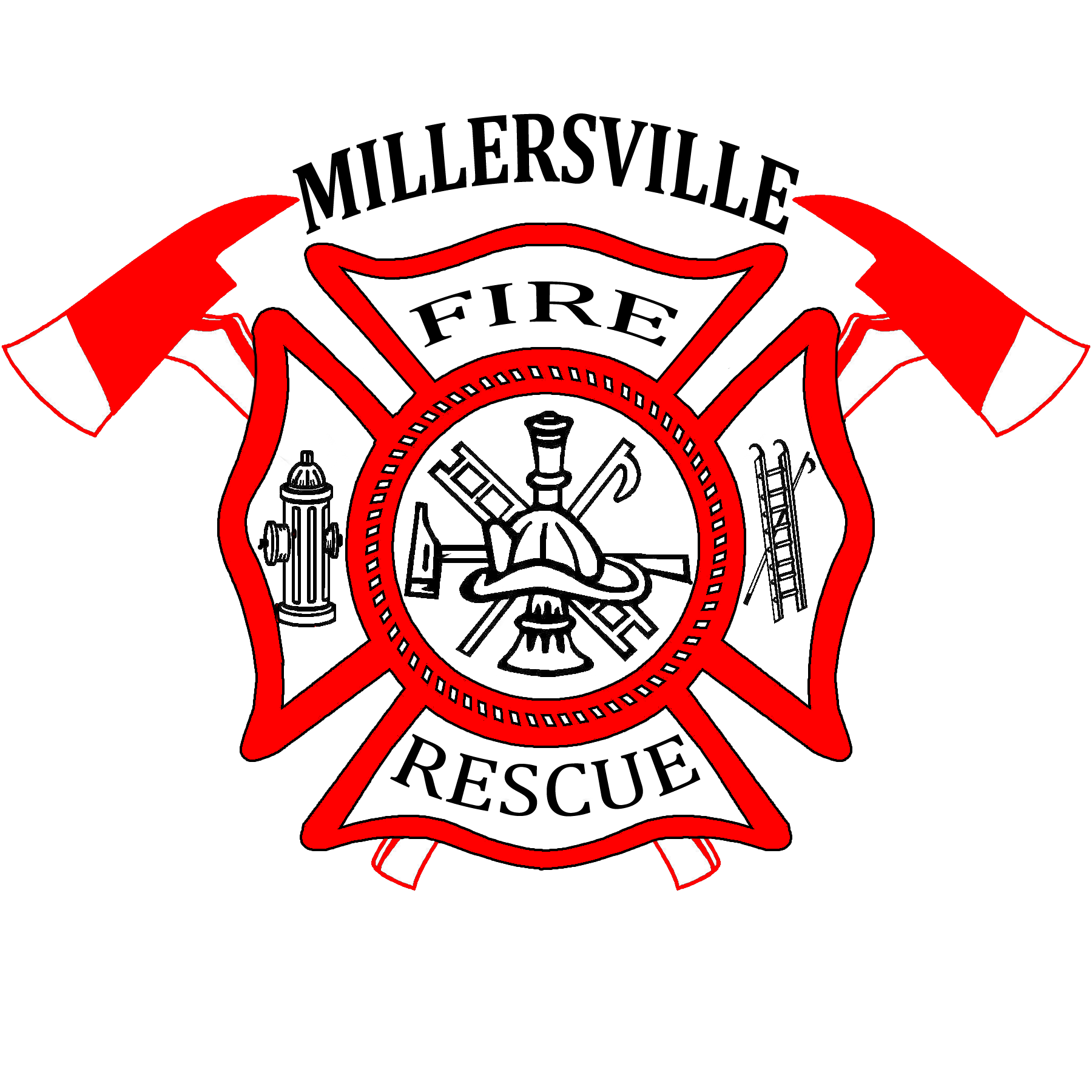 1800x1800 Firefighter Clipart Emblem