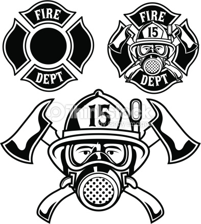 393x437 Collection Of Firefighter Mask Drawing High Quality, Free
