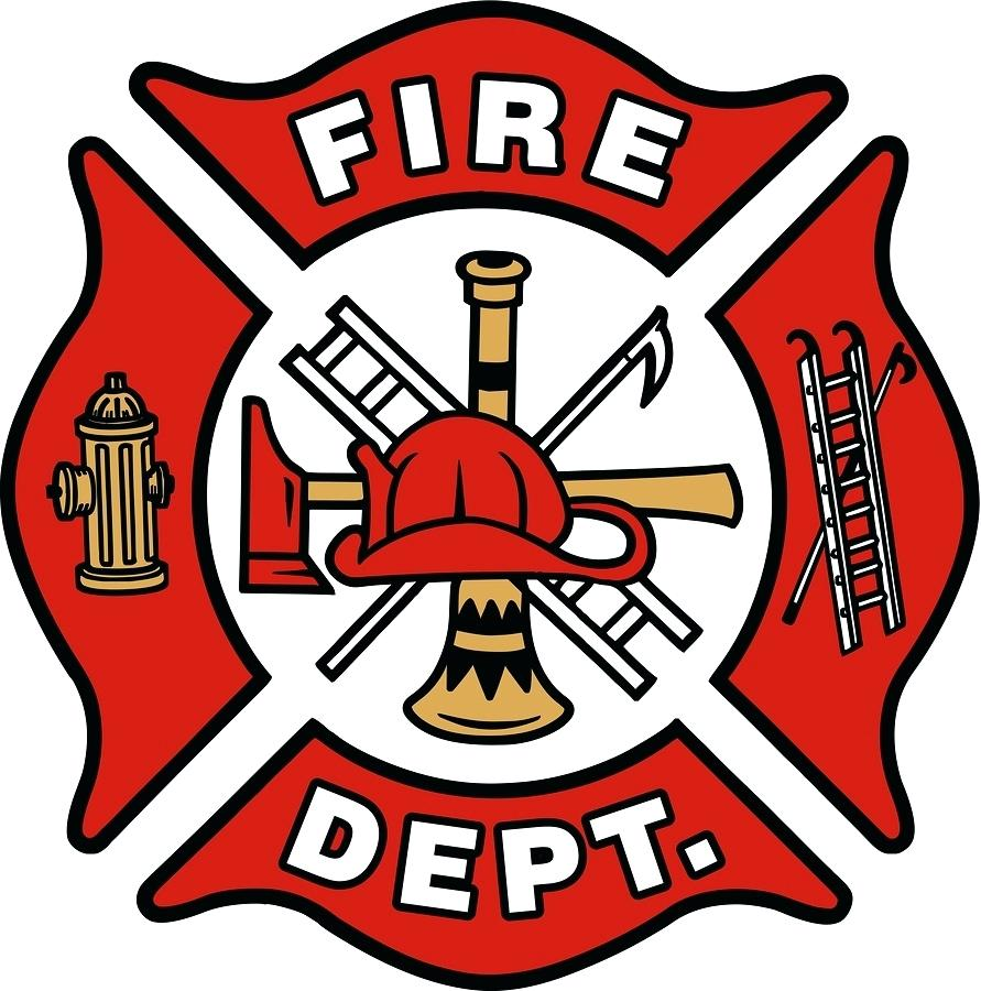 firefighter badge vector at getdrawings com free for personal use
