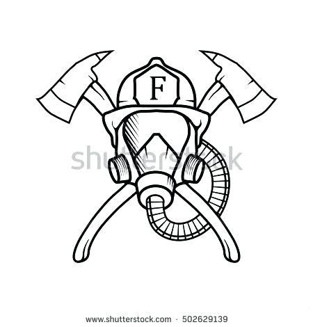 450x470 Fireman Silhouette Clip Art Firefighter Vector Firefighter Logo