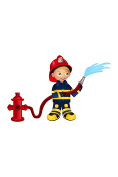 Firefighter Vector Free