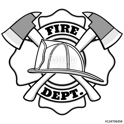 500x500 Firefighter Badge Stock Image And Royalty Free Vector Files On