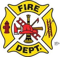 200x190 Collection Of Firefighter Badge Clipart High Quality, Free