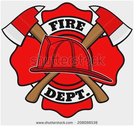 450x421 Fireman Badge Printable Amazing Fireman Hat Pattern Fire Safety