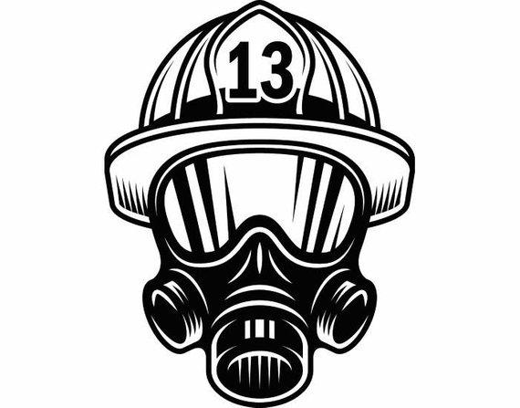 570x447 Fireman Hat Vector