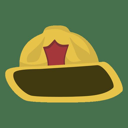 512x512 Fireman Hat Cartoon
