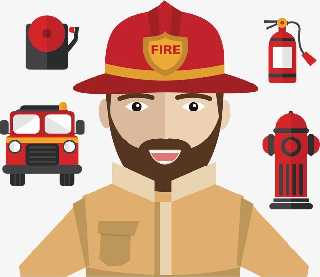 650x564 Firefighter Clipart Brave ~ Frames ~ Illustrations ~ Hd Images