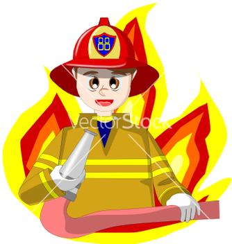 334x352 Fireman Vector Free Vector Download 212679 Cannypic