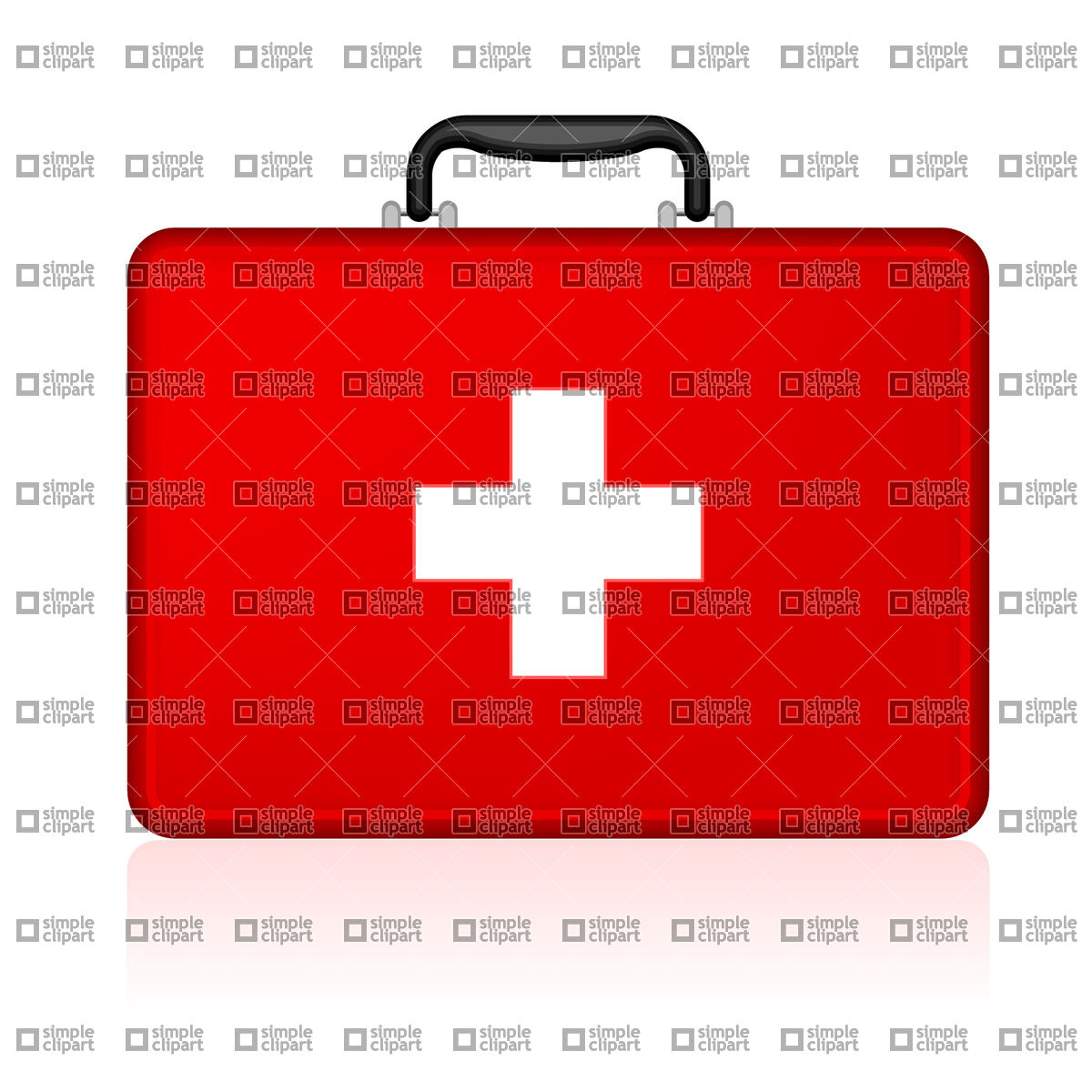 1200x1200 First Aid Kit Vector Image