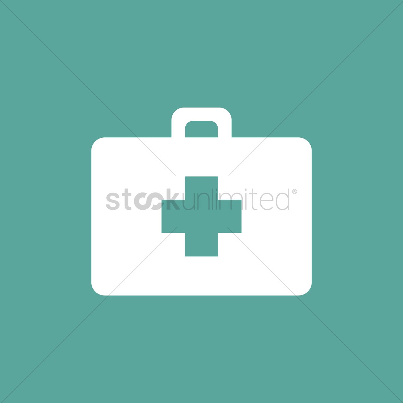 1300x1300 First Aid Kit Vector Image