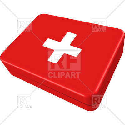 400x400 First Aid Red Box Vector Image Vector Artwork Of Healthcare