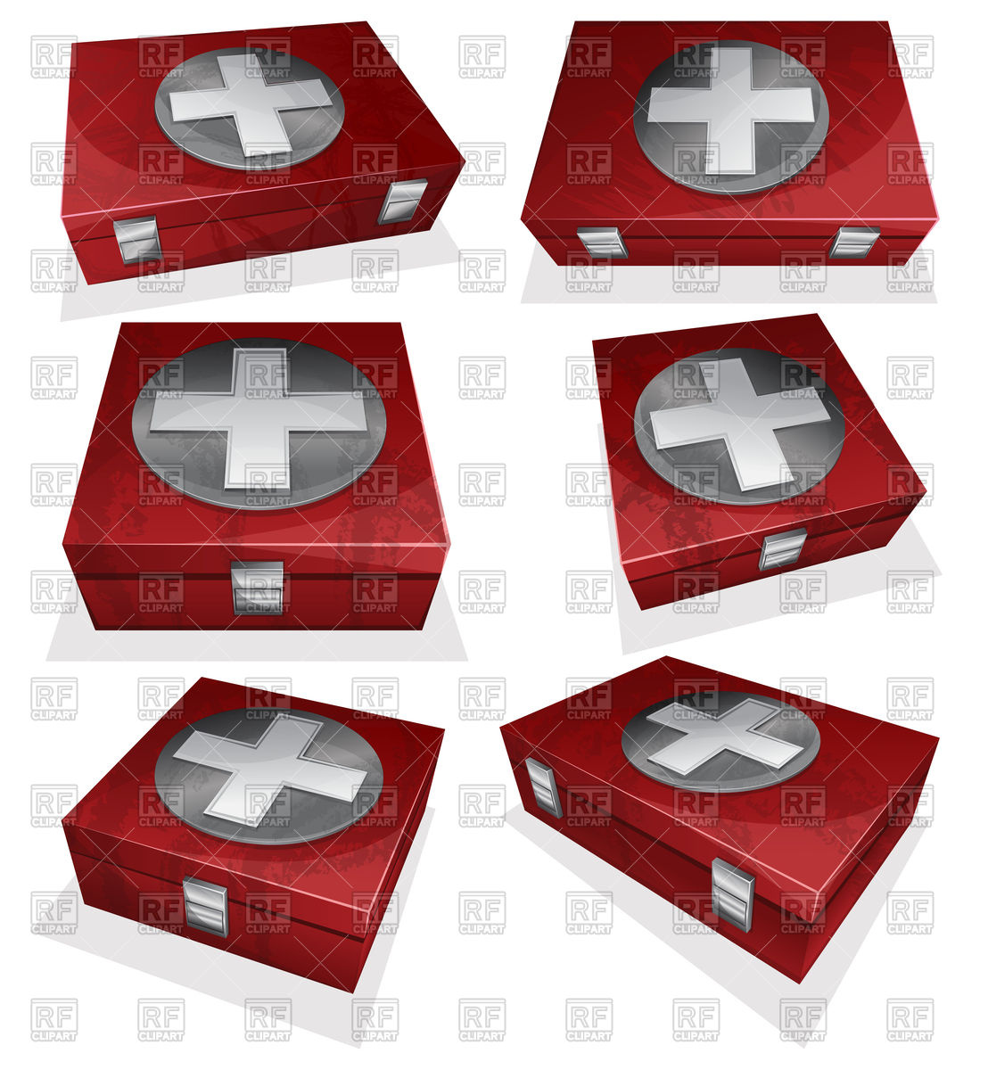 1108x1200 Red First Aid Kit Box Vector Image Vector Artwork Of Healthcare
