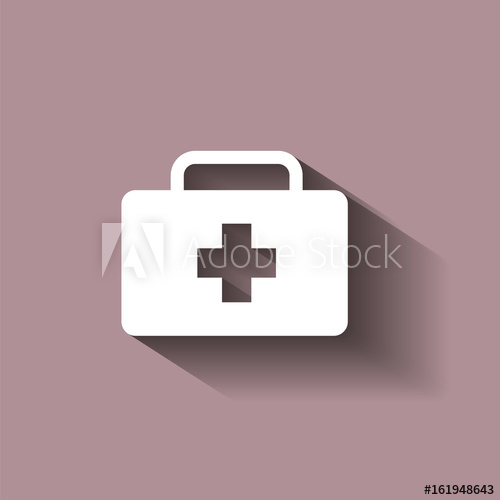500x500 Vector Icon Indicates The Presence Of First Aid. Doctor. First Aid