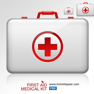 300x300 First Aid Medical Kit 1 Vector