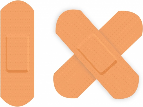 600x448 First Aid Plaster. Free Vector In Adobe Illustrator Ai ( .ai