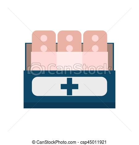 450x470 Band Plaster First Aid Vector Illustration Eps 10.