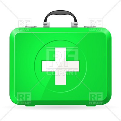 400x400 Green First Aid Kit