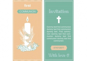 285x200 First Communion Free Vector Graphic Art Free Download (Found 454