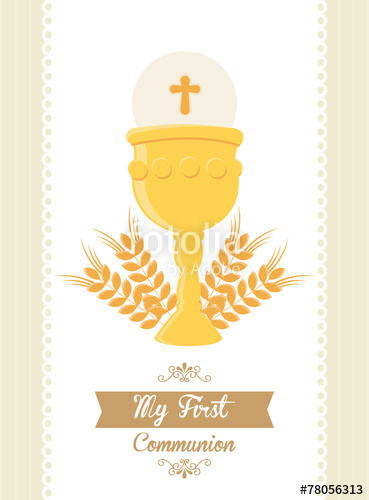 369x500 My First Communion Stock Image And Royalty Free Vector Files On