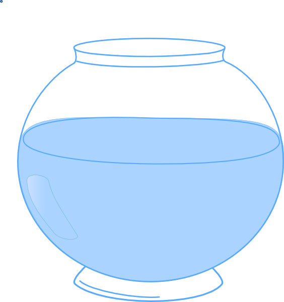 564x600 Svg Library Library Of A Fish Bowl